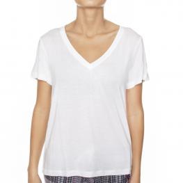 Calvin  Klein    Camiseta Blanco  Qs6127E-100  T.M