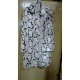 Revic Bata Niña 027083 Rosa Pinguinos T.14