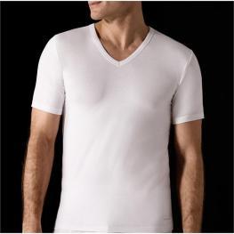 Impetus Innovation  Camiseta Hombre M/corta  C/pico 1351898  Blanca T.L