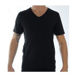 Impetus Camiseta Pico M/c Cotton Str. 1351021 Negro T.S