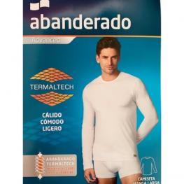 Abanderado Camiseta Termal M/larga Aa808 Blanca T.L/52