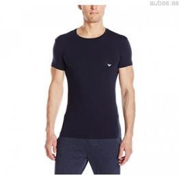 Emporio Armani T-Shirt Algodon Negro T.M (Una Sola)