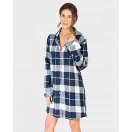 Massana Camisola Mujer M/l L687226 Cuadros T.L