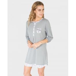 Massana Camisola Mujer M/l  L687232  Gris T.3Xl