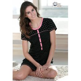 Massana Camisola Mujer M/c L677233 Negro T.M