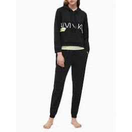 Calvin Klein Pantalon Mujer Jogger Qs6342E-001 Negro T.S/p
