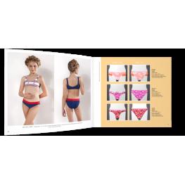 Anai Bikini Niña  Mod. Adalia C.Rojo/azul T.10
