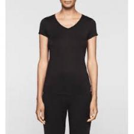 Calvin Klein Cta Mijer Qs5490E-001 Top S/s M/c Neg T.S