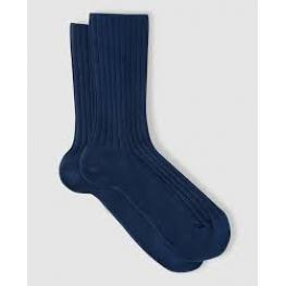 Punto Blanco Calcetin Unisex 15479-10 Cotton Azul T.38/39