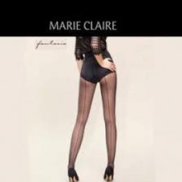 Marie Clarie Pantys Costura Atras 45191 Negro T.M