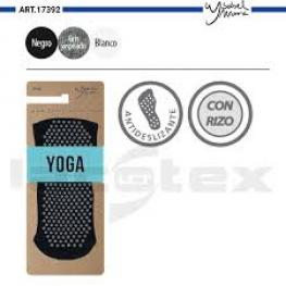 Isabel Mora Calcetin Unisex Yoga Antideslizante 17392 Gris T.37/41