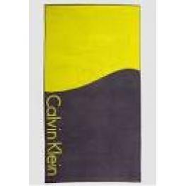 Calvin Klein Toalla Ku0Ku00006 006 Towel-City Neg/ver T.U