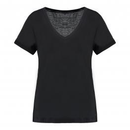 Calvin  Klein  Camiseta  Negra   Qs6127E-100 T.M