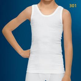 Calamaro Camiseta+Boxer Niño 4963 Color Blanco T. 12 Años