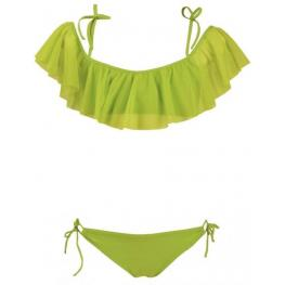 Red  Point  Bikini  Niña  Verde  Volante  4318000  Hidra  T.12