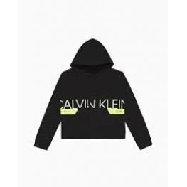 Calvin Klein Sudadera Mujer Qs6341E-001 Neon /ng T.M