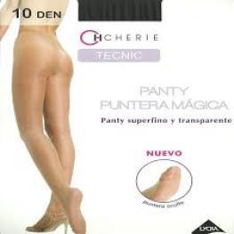 Cherie 5538 Panty  Puntera Mágica  10Den  Grande Escala