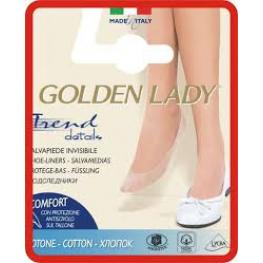 Golden Lady Salvapie Cotton Estrecho Piel T.35/38