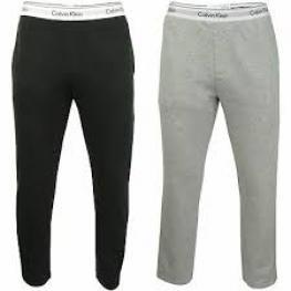 Calvin Klein Pantalon Jogger Nm1582E-038 Gris Osc. T.Xl