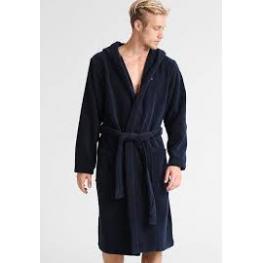 Tommy Hilfiger Albornoz Unisex Fluffy Robe Uwouw01966 416 Azul/navy T.L/g