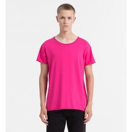 Calvin Klein Camiseta M/c Nm1129E-Evk Rosa T.L