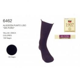 Kler  Calcetin   Algodon  P. Liso  6462  T.U  Negro