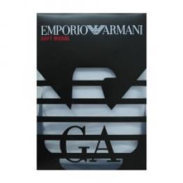 Emporio Armani Cta Modal  Hombre M/c  C/pico 111342 Negro T.S