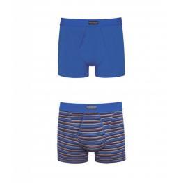 Abanderado Ocean Pack de 2 Boxers Abiertos A5398 Color Petroleo - Azul Marino T. L