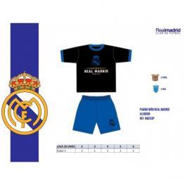 Real Madrid Pijama Niño Az/ng Rm253 T.16