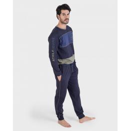 Massana  Pijama  Hombre  Azul  Marino  T.L  691331