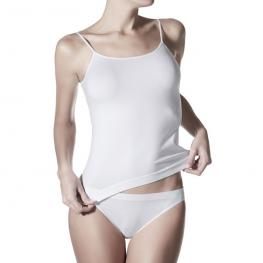 Janira Day Cotton Camiseta Tirantes 1045044 T.Xl Blanco