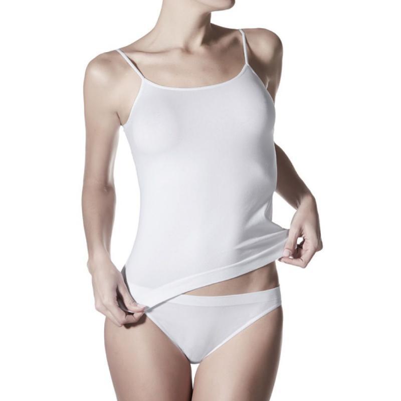 401313a6544 Janira Day Cotton Camiseta Tirantes 1045044 T.Xl Blanco - Yub Store