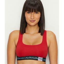 Calvin Klein Top Bralette Qf5577E-3Yq Rojo T.S/p