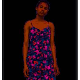 Calvin Klein Camisola Tirantes  Mujer Qs6184E-Xir Flores T.S