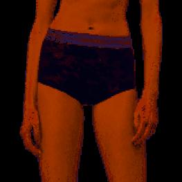 Calvin Klein Culotte-Hipster Alto Qf5265E-Fy8 Negro T,l/g
