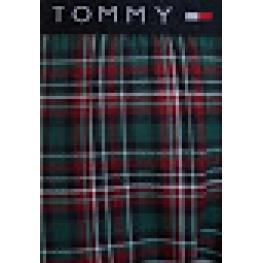 Tommy Hilfiger Pantalon Largo Hombre Cuadros Azules Algodon Tela 2S87902204 466 T.M