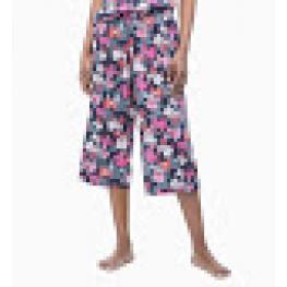 Calvin Klein Pantalón Mujer Capri Qs6185E -Xir  Flores T.Xl