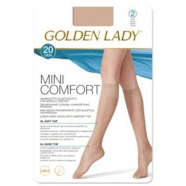 Golden Lady Mini Media Confort 20Den 2Pares Negro T.M/l