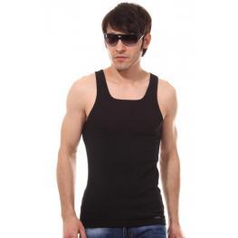 Impetus Hombre Camiseta Tirantes Negra T.Xl