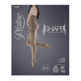 Platino Panty Shape 9Den Cintura Alta 549 Caresse T.V-Sm