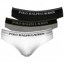 Polo Ralph Lauren 3 Pack Brief Slip Secretts Cotton 250 U3Brf B6598 V9P11 Prl 154057 T.Xl
