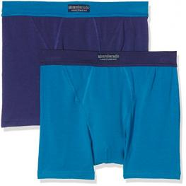 Abanderado Ocean Pack de 2 Boxers Abiertos A5398 Color Petroleo - Azul Marino T. Xl
