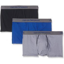 Emporio Armani Box Pack de 3 Tonos Azules 7A722 T.M