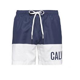 Calvin Klein Bañador Hombre Medium Drawst Km0Km00153470 Blue Shadow T.S