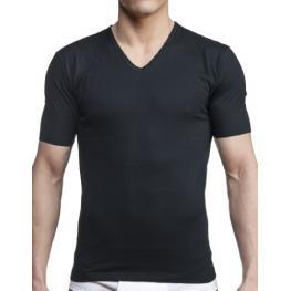 Impetus Hombre Camiseta M/corta C/p Cotton Negro T.L/g