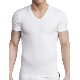 Impetus Cta Hombre Cotton Stretch M/c C/p Blanco 1351021 T.L/g