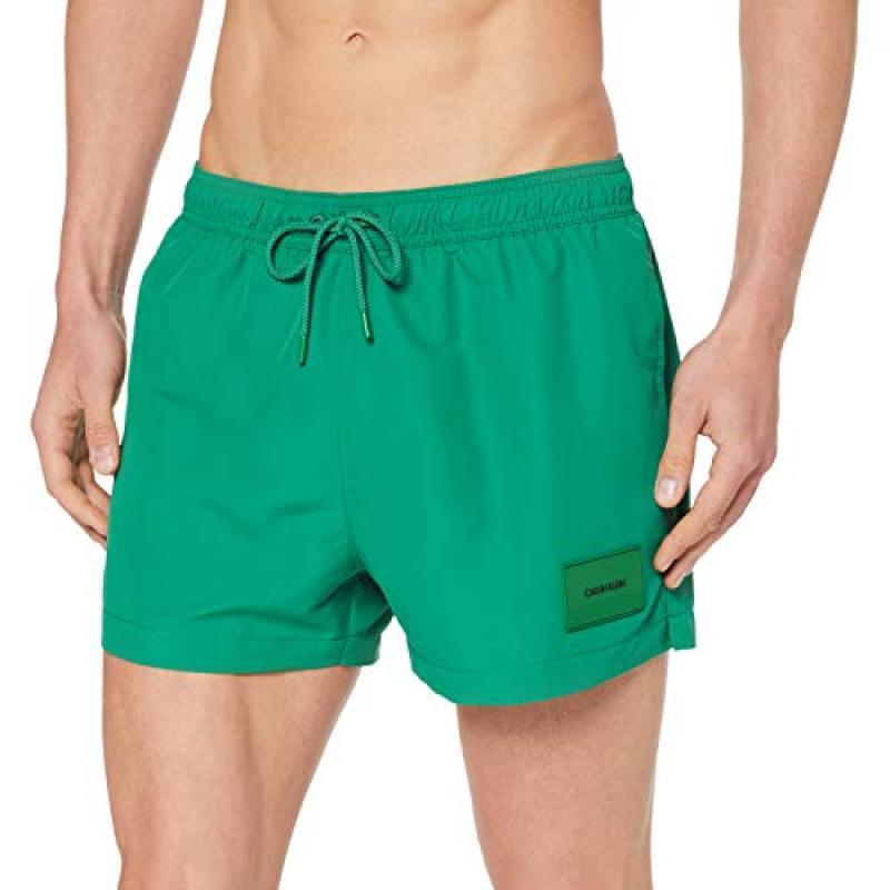 a4819f5e5357 Calvin Klein Bañador Hombre Km0Km00277 Verde T.S