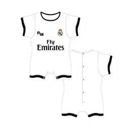 Real Madrid Pelele Bebé M/l Rmf153 Blanco T.18M