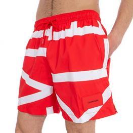Calvin Klein Bañador Hombre Km0Km00274 669 Rojo T.L/g