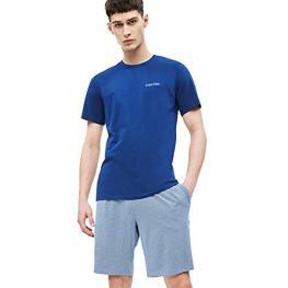 Calvin Klein Pijama Hombre  M/c  Nm1535E-Gjk Azul T.M